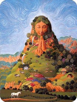 Die Natur behandelt uns wie eine Mutter und gibt uns alles, was wir brauchen.